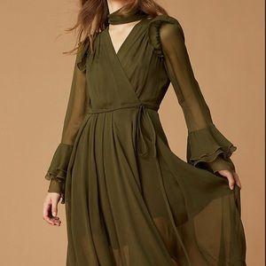Diane Von Furstenberg Diva Ruffle Dress